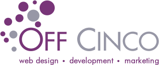 Off Cinco – Katy Texas Web Design | Municipal Utility District Web Design Company Logo